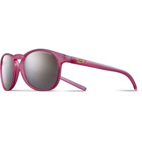Julbo Fame Spectron 3+ Sunglasses Junior 10-15Y Matt Translucent Pink-Gray Flash Silver